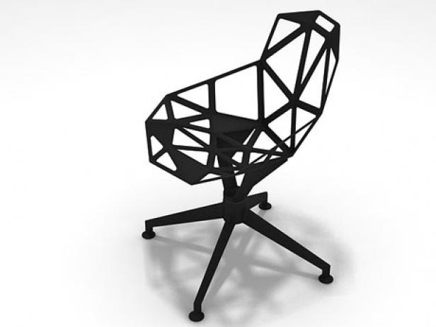 chair one 4star 3d model magis. Black Bedroom Furniture Sets. Home Design Ideas