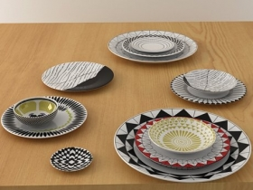 12 plates