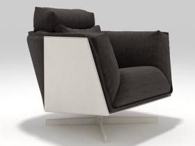 Heit Armchair & Footstool