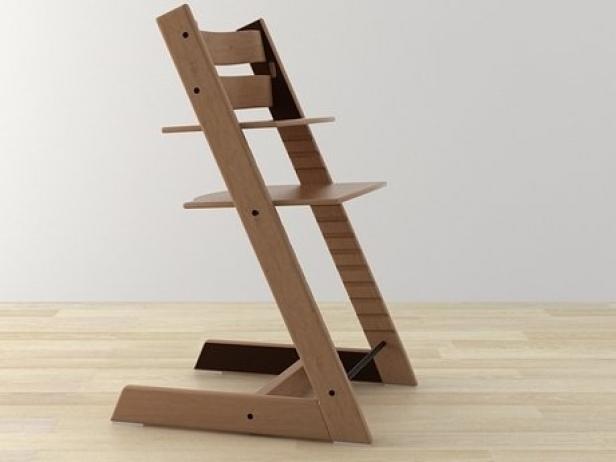 tripp trapp 3d model stokke. Black Bedroom Furniture Sets. Home Design Ideas
