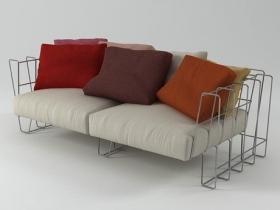Hoop sofa 200
