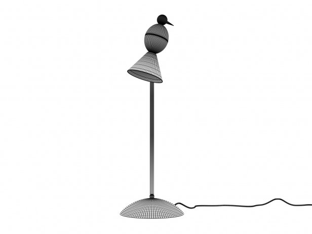 Alouette Desk Center Lamp 4