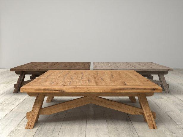 Benson Sawhorse Coffee Table 5