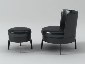 Feel Good Armchair and Ottoman