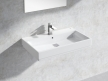 Cube Wall-hung Basin 80 Set 1