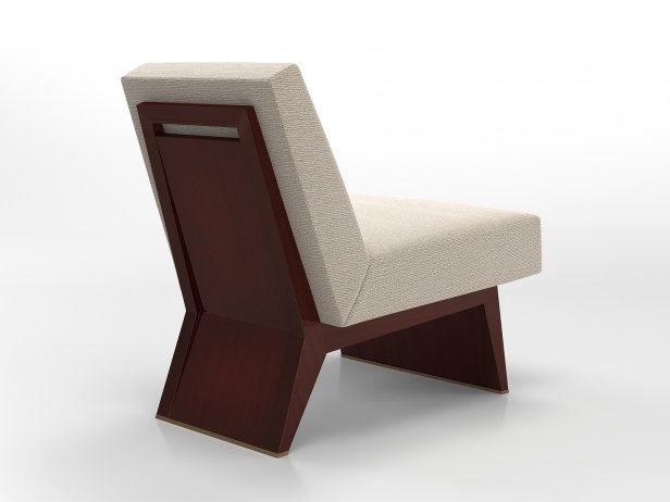 Wedge Slipper Chair 2