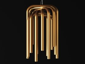 Pipes Suspension Lamp