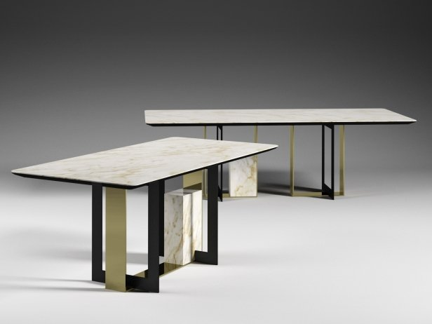 Moore 180 and 240 Rectangle Dining Tables 1