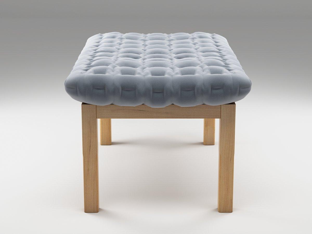 ruch ottoman 3d model ligne roset. Black Bedroom Furniture Sets. Home Design Ideas