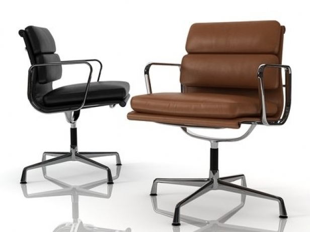 eames soft pad side chair 3d model herman miller. Black Bedroom Furniture Sets. Home Design Ideas