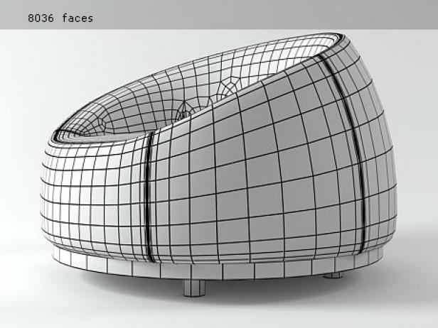 Vertigo Armchair 8