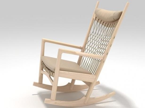 Phenomenal Pp124 The Rocking Chair Theyellowbook Wood Chair Design Ideas Theyellowbookinfo
