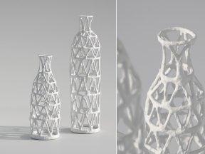 WEST ELM Papier-Mache Vases