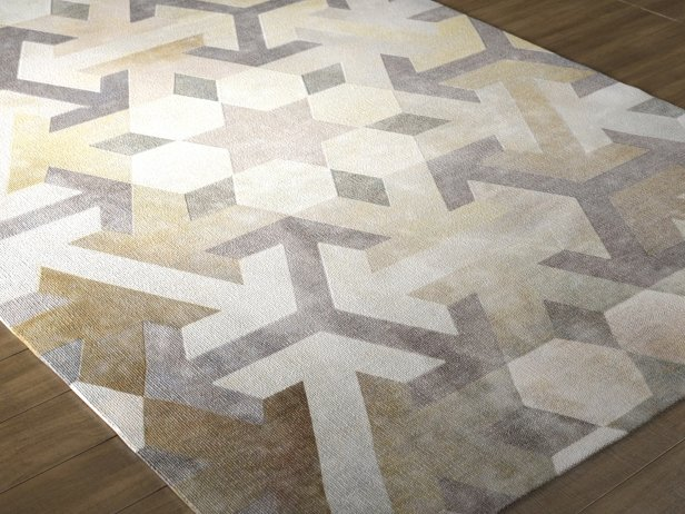 Moroccan Collection Carpet 3d Model