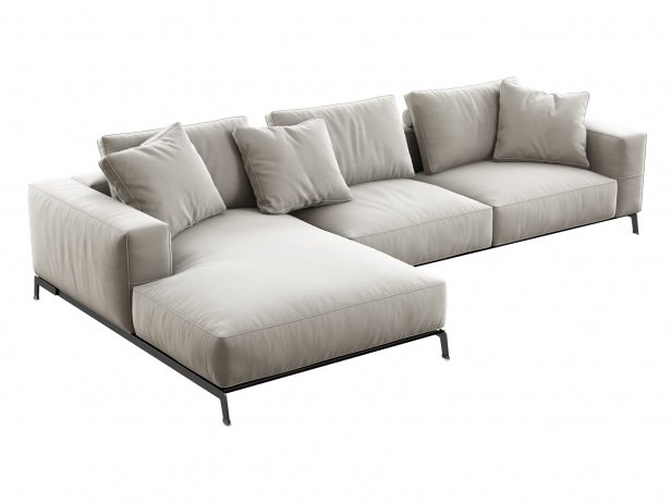 Ettore Corner Sofa 2