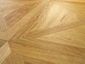 Brushed Oak Panels Flooring