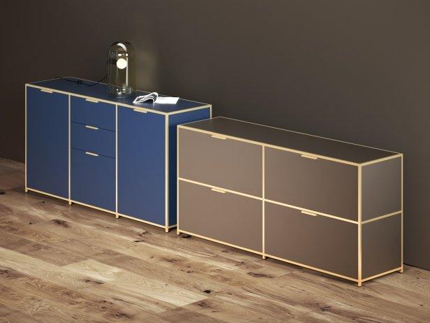 Dita sideboards 3d modell ligne roset for Skandinavisches sideboard
