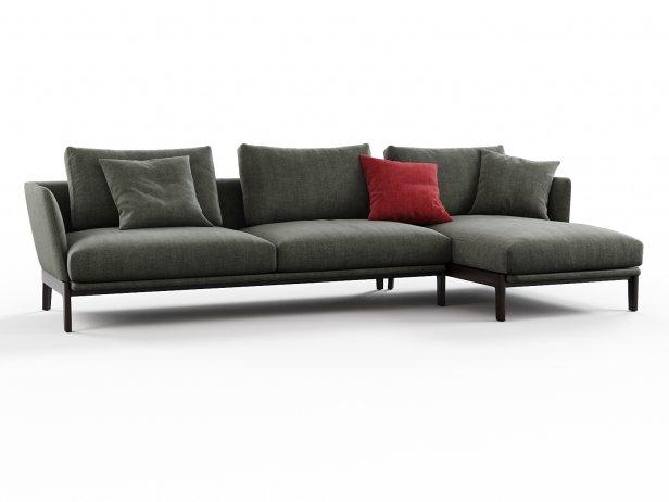 Chelsea CHC04 Corner Sofa Composition 1