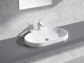 Eurocosmo Countertop Basin 80 Set