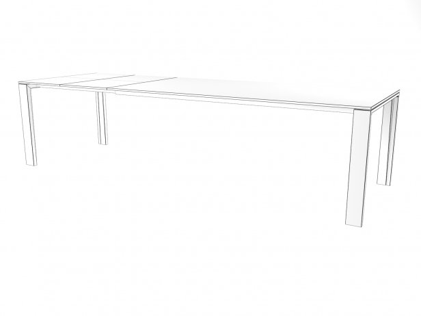 Naia Extendable Dining Table 7
