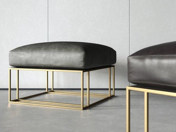Sling Chair & Ottoman 6