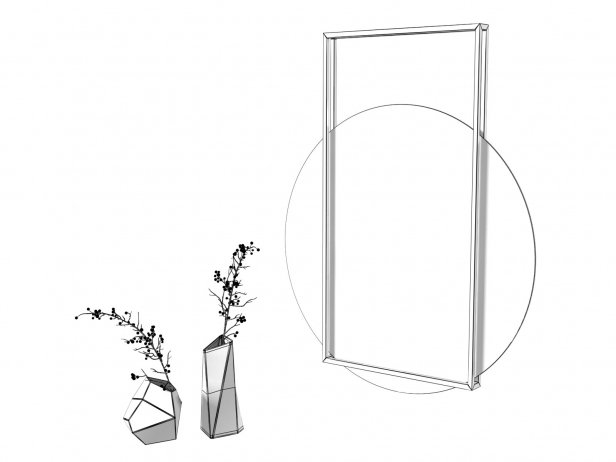 Pendulum Wall Mirror 3