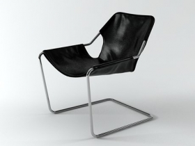 Paulistano armchair 3d model | Objekto