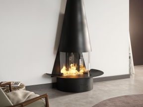 Filiofocus Mural Gas Fireplace