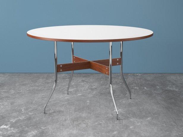Nelson Swag Leg Round Dining Table 3d Model Herman Miller Usa