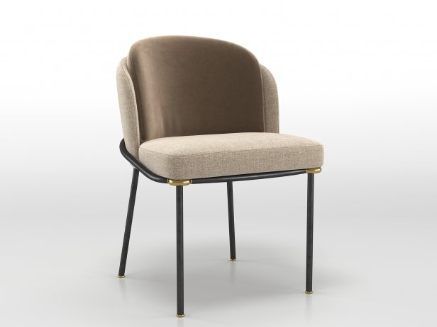 Fil Noir Dining Chair 4