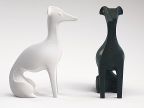 JONATHAN ADLER Ceramic Whippet