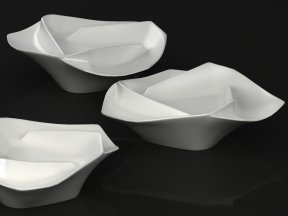 Ceramic Bowl of Peaches