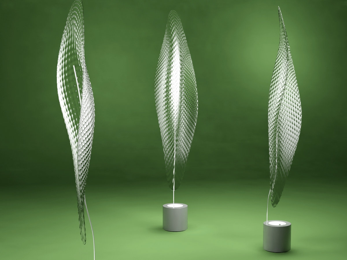Cosmic Leaf Terra 3d Model Artemide