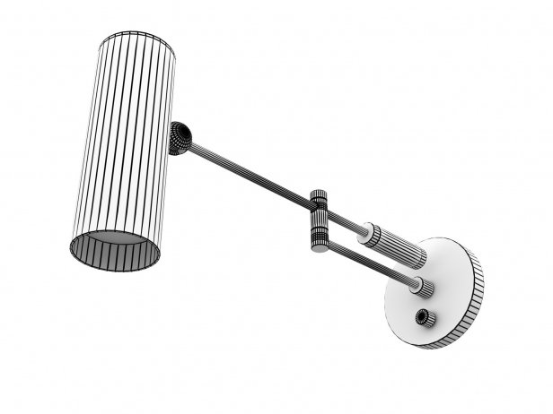 Cylinder Swing Arm Sconce Lamp 4