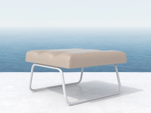 Hirche Outdoor Footstool 3