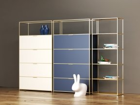 Dita High Unit and Shelving