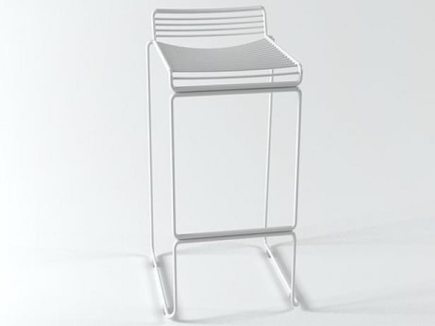Hee stool d model hay