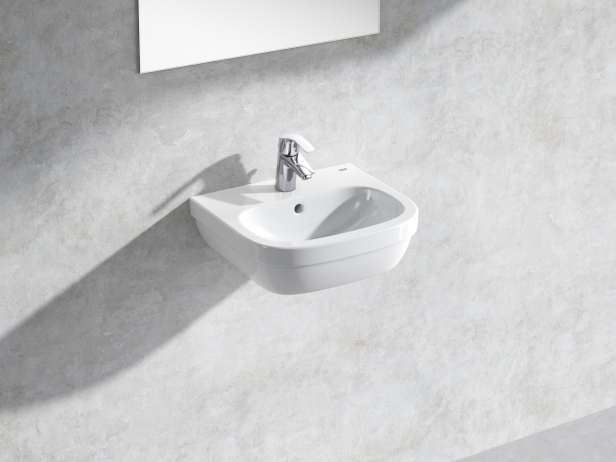 Euro Wall-hung Basin 45 Set 1