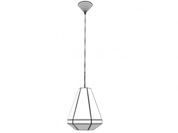 The Diamonte Pendant Lamp 8