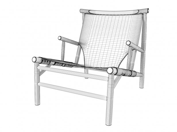 Samurai Lounge Chair 8