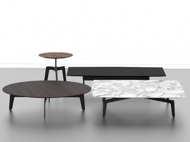 Tribeca Tables 3d Model Poliform