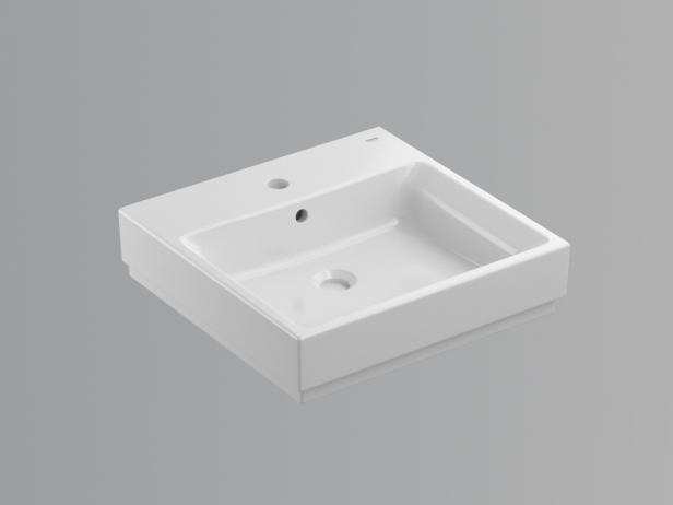Cube Countertop Basin 50 Set 3