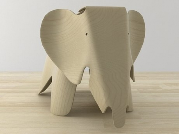 Eames Plywood Elephant 2