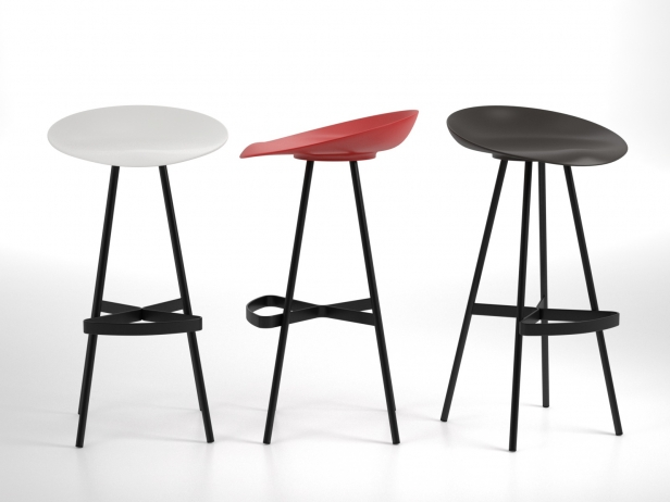 Berretto Bar Stool 1