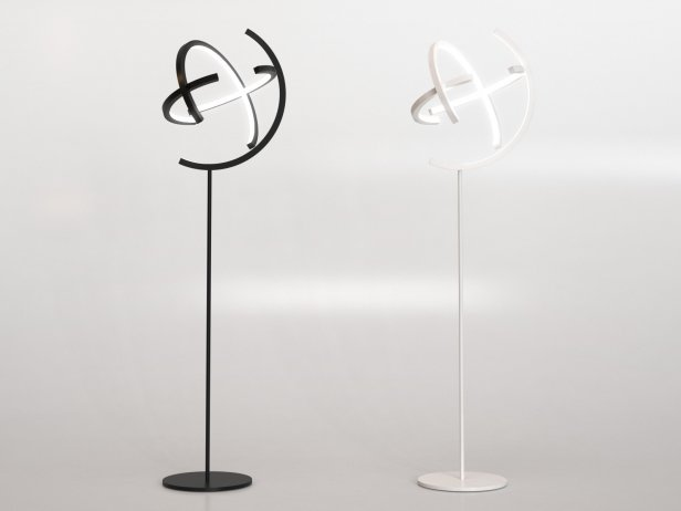 Atom Straight Floor Lamp 1