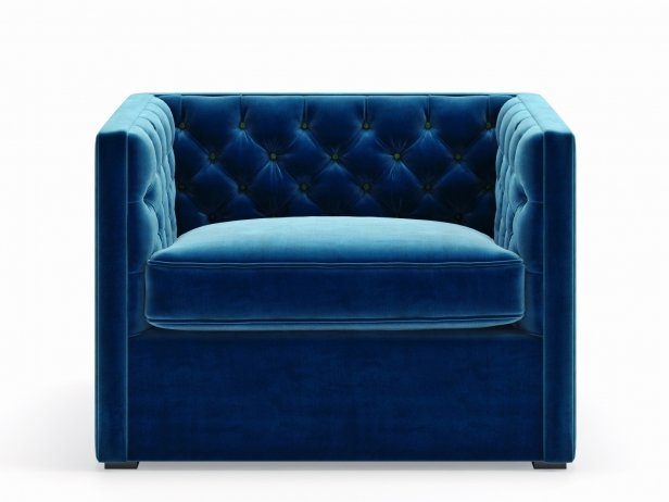 Mercer Tufted Club Chair 1
