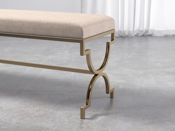 Cream Double Bench 3