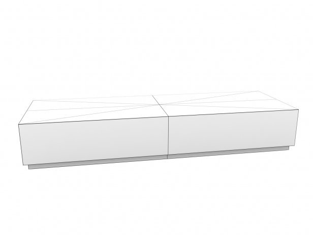 Machinto Rectangular Coffee Table 13