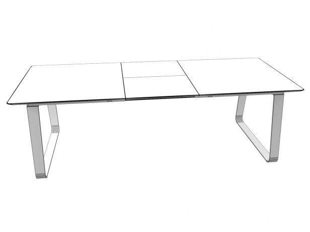Vilna Extendable Dining Table 180 8