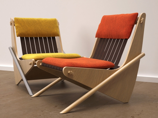 Boomerang chair 9